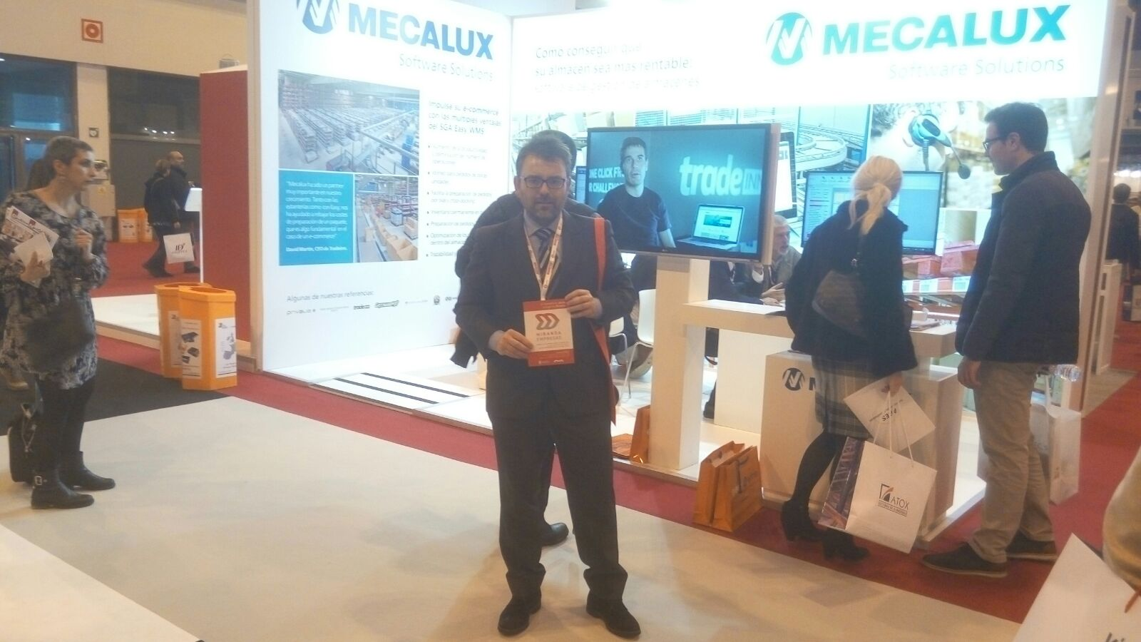 Miranda empresas asiste a la feria logistics en madrid - Empresas interiorismo madrid ...