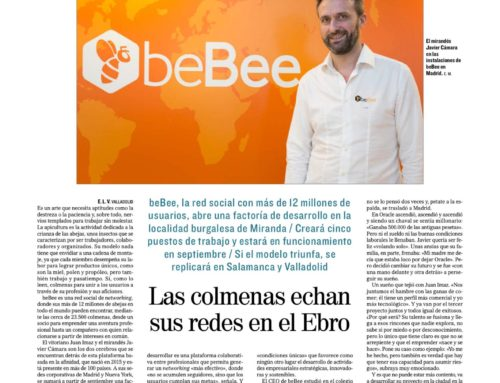Dossier de prensa y radio beBee aterriza en Miranda de Ebro
