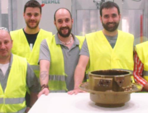 El equipo de Aciturri Aeroengines ha entregado el primer conjunto de Cojinete para el motor Trent 1000 de Rolls Royce.