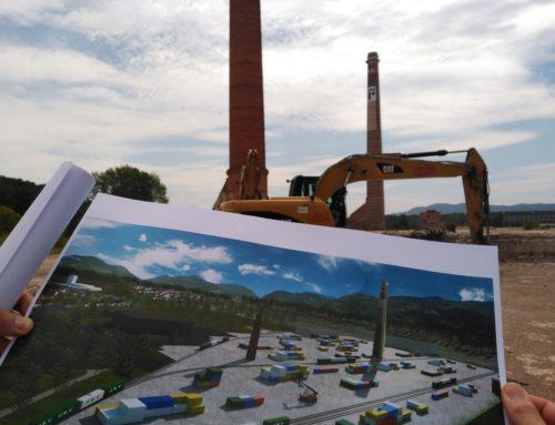 Dossier de prensa inicio de obras de JSV Logistic del centro logístico contenedores Miranda
