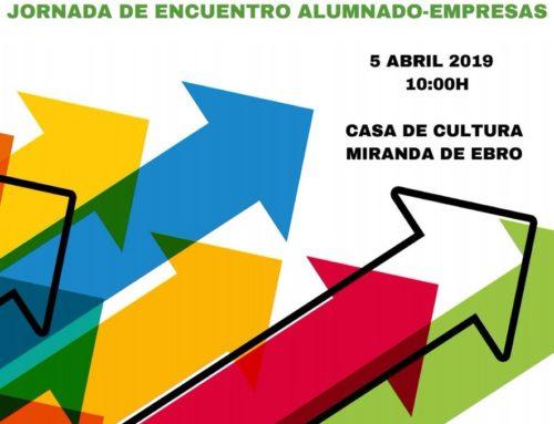 Participamos en la Jornada encuentro alumnado-empresas del CIPF Rio Ebro