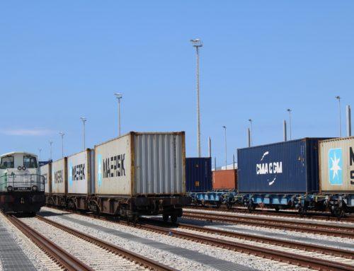 SYNERGY añade una 3ª frecuencia de tren entre el Puerto de Barcelona y Miranda de Ebro