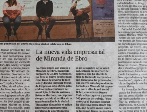 El País: La nueva vida empresarial de Miranda de Ebro