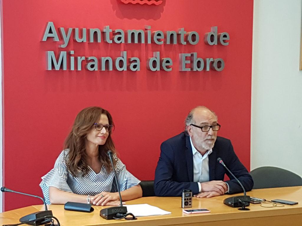 Presentación del III FORO DE EMPLEO Y EMPRESAS MIRANDA DE EBRO