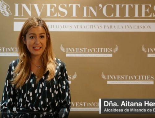 Entrevista alcaldesa Aitana Hernando para Invest in Cities