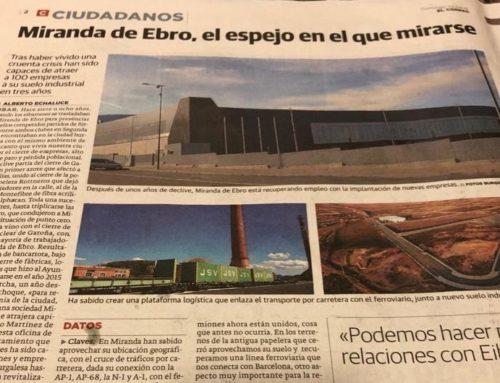 Diario Vasco: Miranda de Ebro, el espejo en el que mirarse