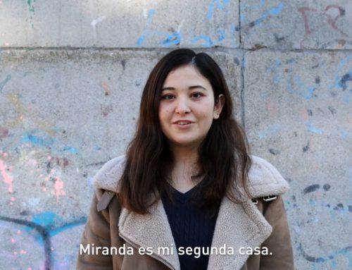 場所はミランダ … El lugar es Miranda… También en japonés