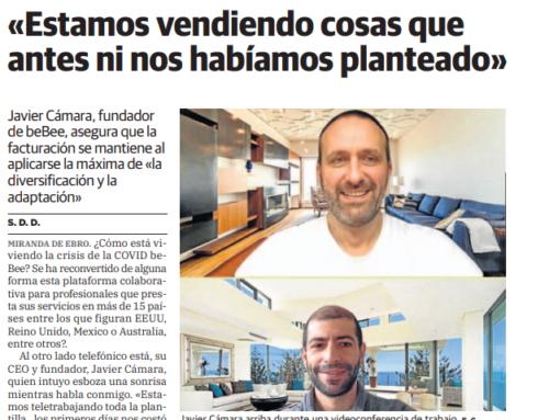 El Correo: Entrevista con Javier fundador de Bebee sobre la adaptación frente al Coronavirus
