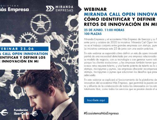 Webinar 25 de Junio: Cómo definir e identificar los retos de innovación en mi empresa