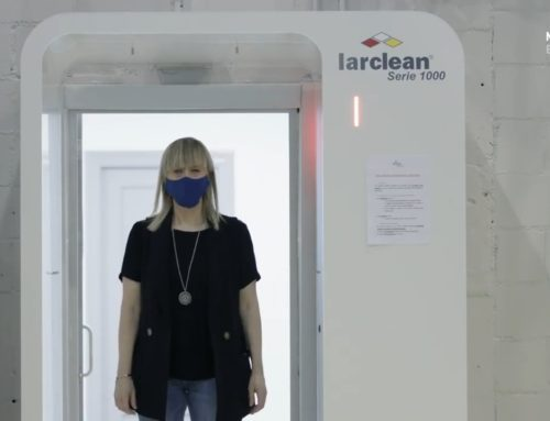Alintra Systems fabrica cabina Larclean® para protegerse contra Covid-19