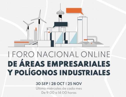 Miranda empresas asiste al I Foro Nacional online de áreas empresariales y polígonos industriales