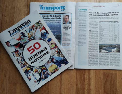Una de las 50 mejores noticias del año para Transporte XXI