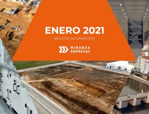 Boletín informativo Miranda Empresas · Enero 2021