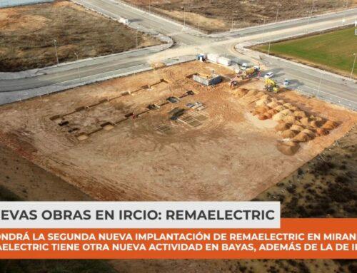 Nuevas obras en Miranda de Ebro en el polígono industrial de Ircio de Remaelectric