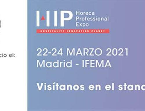 García Requejo participa en la feria de HIP (HOSPITALITY INNOVATION PLANET), del 22 al 24 de Marzo