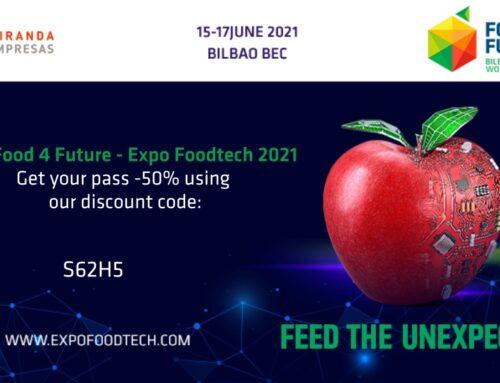 Food 4 Future World Summit, el evento de innovación para transformar la industria de alimentación y bebidas se celebrará del 15 al 17 de junio en Bilbao