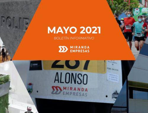 Boletín informativo Miranda Empresas · Mayo 2021