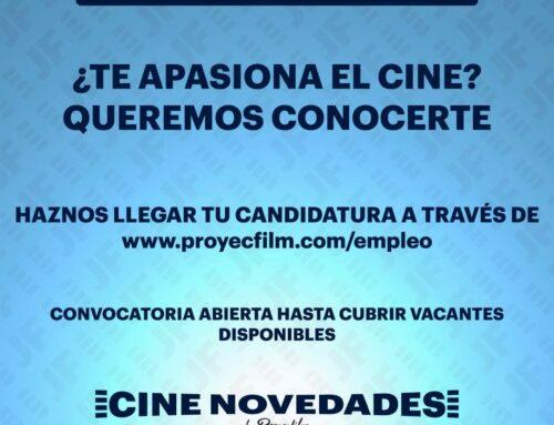 Empleo Proyecfilm para cine Novedades en Miranda