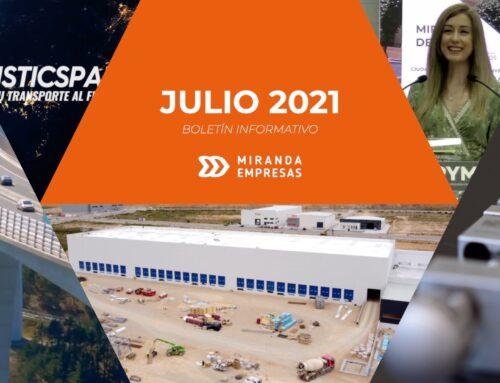 Boletín informativo Miranda Empresas · Julio 2021