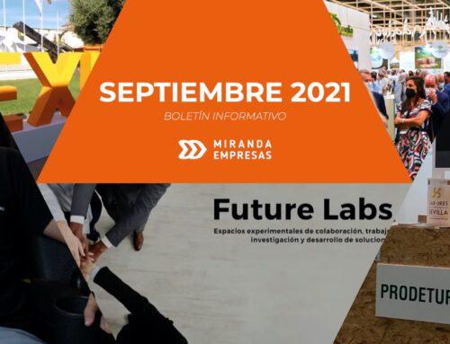 Boletín informativo Miranda Empresas · Septiembre 2021